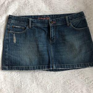 Jean skirts size 12